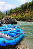 Rafting in Montenegro Royalty Free Stock Photography