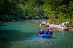 Rafting in Montenegro, river Tara Stock Photography