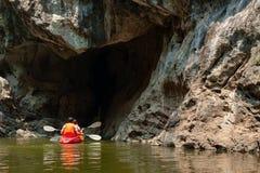 Rafting  in Phahop Royalty Free Stock Image