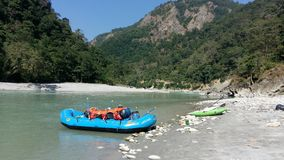 Rafting on the river Stock Photography