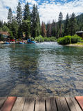 Rafting on the Truckee River Stock Images