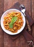 Ragú del calabacín y del tomate Imagenes de archivo