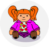 Rag doll Royalty Free Stock Images