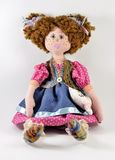 Rag doll with red hair Royalty Free Stock Photos