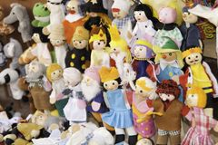Rag dolls Stock Image