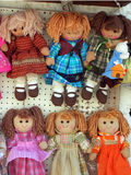 Rag dolls Stock Images