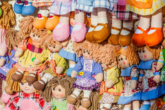 Rag dolls Stock Photos