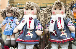 Rag dolls Royalty Free Stock Photography