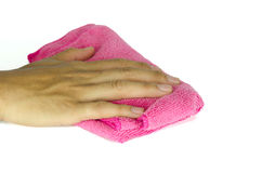 Rag pink Royalty Free Stock Photography