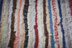 Rag rug stock photography