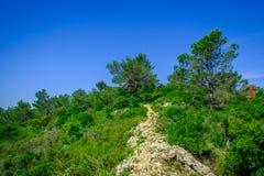 Ragagnas Moutain Footpath-2 fotografie stock libere da diritti