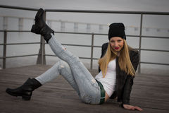 Ragazza Fotografie Stock