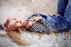 Ragazza Fotografia Stock