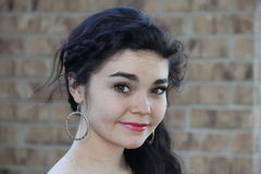 Ragazza abbastanza teenager Fotografia Stock Libera da Diritti
