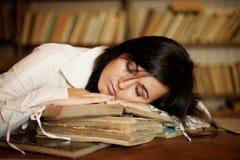 Ragazza addormentata Fotografia Stock Libera da Diritti