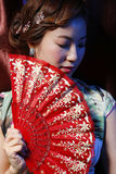 Ragazza adorabile asiatica Immagini Stock