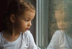 Ragazza adorabile del bambino Fotografie Stock