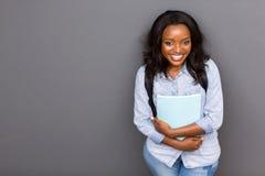 Ragazza africana dell'università Immagini Stock