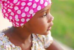 Ragazza africana dolce immagini stock