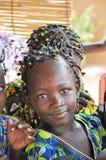 Ragazza africana felice Immagini Stock Libere da Diritti