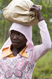 Ragazza africana - Ruanda Fotografia Stock