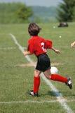 Ragazza al campo di calcio 26 Fotografia Stock Libera da Diritti