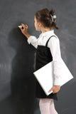 Ragazza al consiglio scolastico Immagini Stock Libere da Diritti