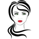 Ragazza alla moda royalty illustrazione gratis
