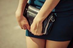 Ragazza alla moda Immagine Stock