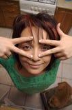 Ragazza allegra Fotografie Stock Libere da Diritti