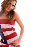 Ragazza americana. Fotografia Stock