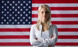 Ragazza americana immagine stock libera da diritti