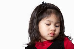 Ragazza anziana di due anni adorabile sveglia del bambino Fotografie Stock