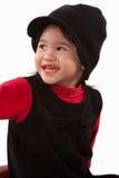 Ragazza anziana di due anni adorabile sveglia del bambino Fotografia Stock Libera da Diritti
