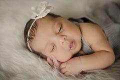 Ragazza appena nata Fotografie Stock