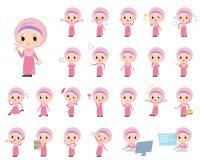 Ragazza araba royalty illustrazione gratis