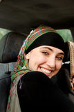 Ragazza araba moderna Fotografia Stock Libera da Diritti