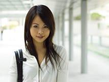 Ragazza asiatica Immagini Stock Libere da Diritti