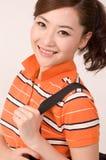 Ragazza asiatica Fotografie Stock