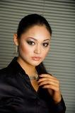 Ragazza asiatica Fotografie Stock Libere da Diritti