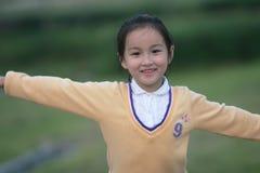Ragazza asiatica Fotografia Stock Libera da Diritti