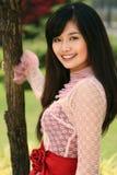ragazza asiatica Fotografia Stock