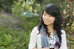 ragazza asiatica abbastanza Fotografia Stock