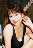Ragazza asiatica bella fotografie stock
