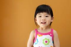 Ragazza asiatica del bambino del bambino Fotografie Stock Libere da Diritti