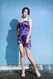 Ragazza asiatica di modo Fotografie Stock
