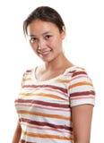 Ragazza asiatica sorridente Immagine Stock Libera da Diritti