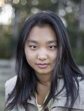 Ragazza asiatica sveglia Immagini Stock Libere da Diritti