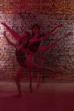 Ragazza, ballerina, Fotografia Stock