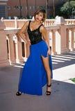 Ragazza bella del Brunette Fotografia Stock
